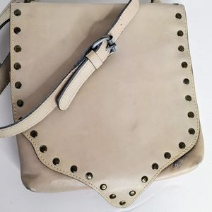 Patricia Nash Crossbody Beautiful Tan Leather